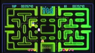 X Box Live Arcade Compilation Disc - Pac-Man Championship Edition (X Box 360) Game Play
