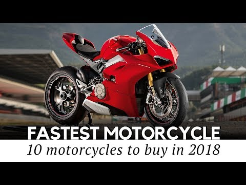 10 Fastest Motorcycles and Superbikes in 2018: Record Speeds and Price Tags