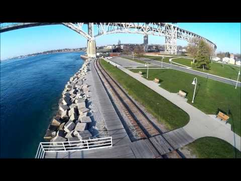 Walkera H500 - Flights Over Port Huron, Michigan 5-2&3-2015