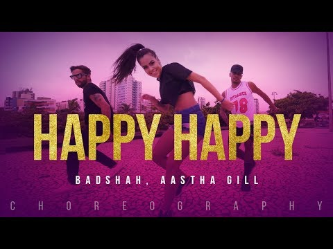Happy Happy Video Dance  Blackmail  Irr Khan  Badshah  Aastha Gill  FitDance Channel