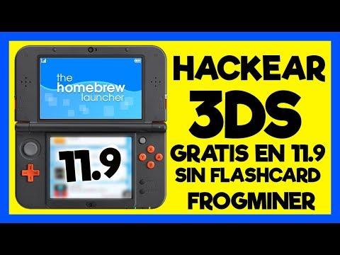 ¡INSTALAR CFW 3DS 11.9 SIN FLASHCARD NI OTRA CONSOLA CON FROGMINER! - FBI Y .CIAS