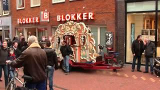 street organ on the street Leiden.rmvb