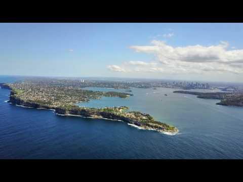 Mavic Pro at Sydney Heads / AUS - North & South - [Full HD]