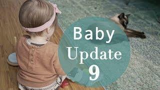 Baby Update - 9. Monat - Hilfe Ella bockt!!
