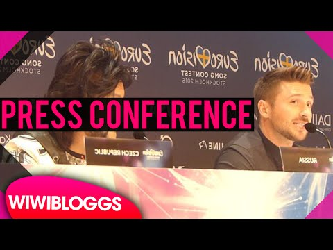 Russia's Sergey Lazarev on gay rights and LGBT safety (Eurovision press conference)