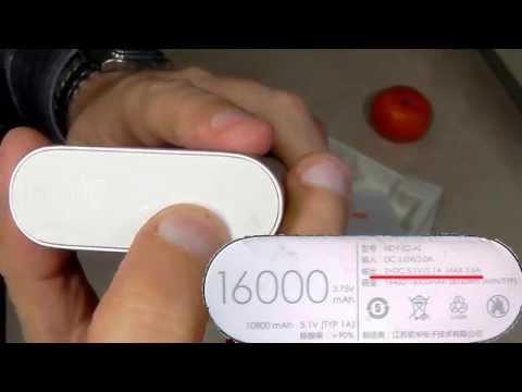 Xiaomi MI NDY-02-AL 16000mAh PowerBank. Тестирование и замер емкости