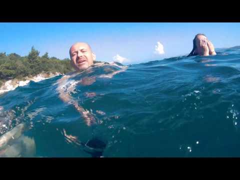Hawkeye Firefly 7s second underwater test