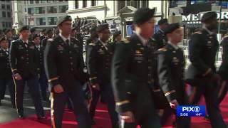 NYC parade honors veterans, marks 100 years since end of WWI