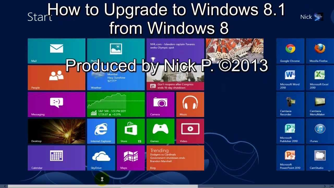 How to Upgrade to Windows 8.1 from Windows 8 - Free & Easy ...