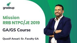 Mission RRB NTPC/ JE 2019 (GA/GS Course)