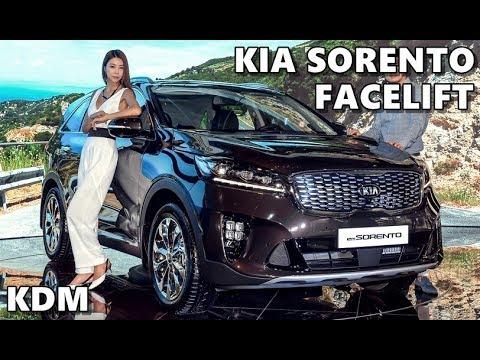 2018 Kia Sorento Facelift KDM