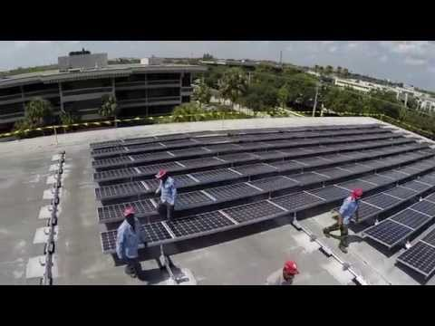 Award Winning Commercial Solar Panel Installation - Deerfield Beach, Florida