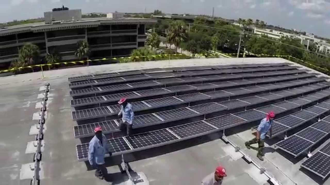 Commercial Solar Panel Wiring Diagram Schematics Inverter Micro Rack Mount Youtube Award Winning Installation Deerfield Beach Rh Com 12 Volt