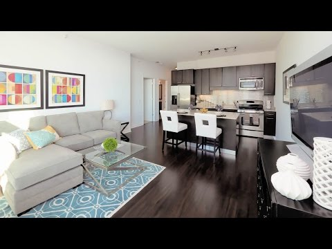 Tour a River North one-bedroom model apartment at Parc Huron