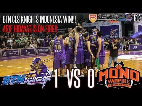 HoopsHighlights - [ABL PLAYOFFS 2018-2019] BTN CLS Knights Indonesia vs Mono Vampire [Game 1] (HD)