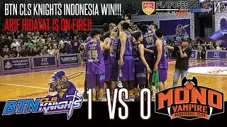 HoopsHighlights - [ABL PLAYOFFS 2018-2019] BTN CLS Knights Indonesia vs Mono Vampire [Game 1] (HD)
