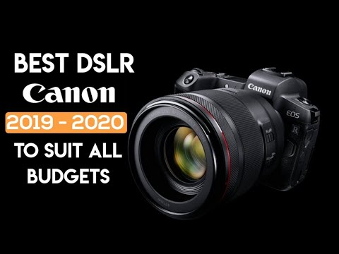 Best Dslr For Beginners 2020 Best Canon DSLRs Camera 2019   2020 | Best Canon Cameras to Suit