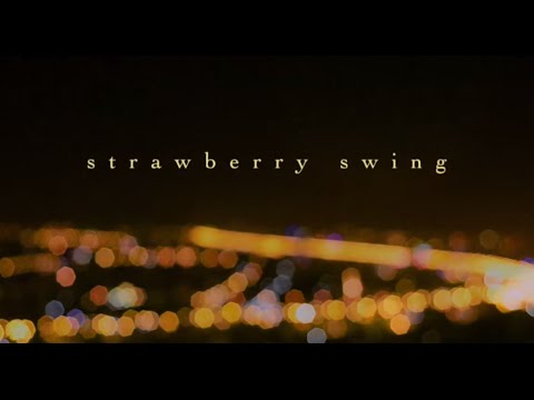 Strawberry swing - Frank Ocean (Lyrics video)