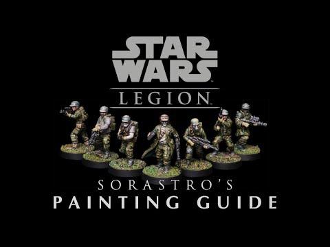 Star Wars Legion Painting Guide Ep.2: Rebel Troopers