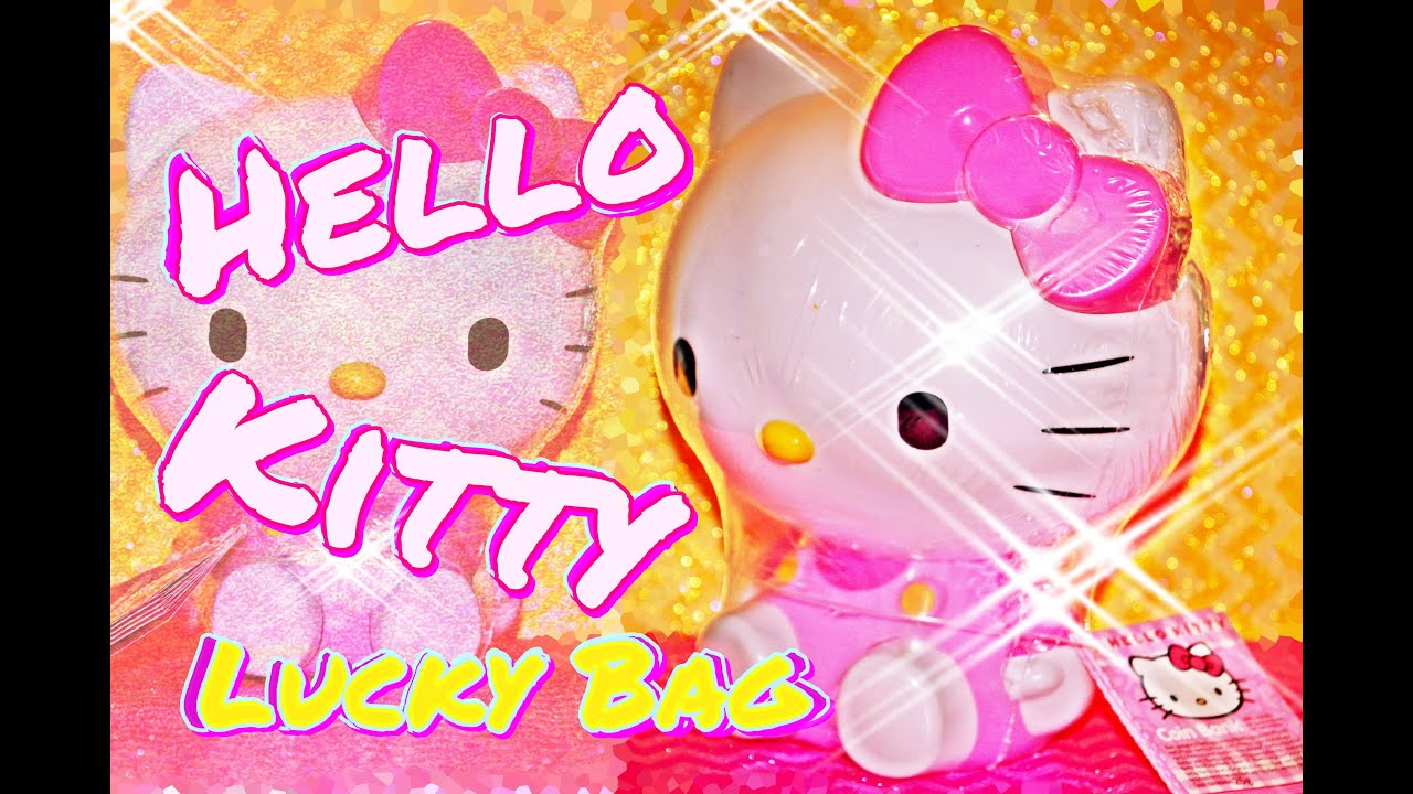 HELLO KITTy sweet Spardose SUPER SURPRISE money BOX Kinder 4K