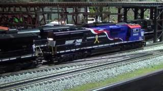 mth o scale train layout update summer 2016
