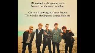 MBLAQ(???)-Beautiful(Love is coming) [Lyrics + Eng] MP3