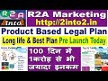 New Mlm Plan | R2A  Business Plan | New Launch Direct selling Companies 2019 | 2into2.in, Mlm Review