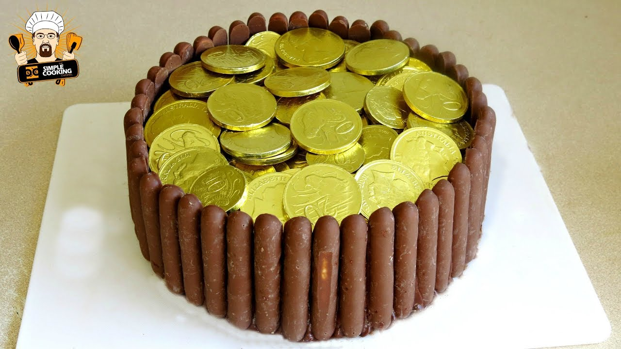 How To Make A Pot Of Gold Birthday Cake Youtube