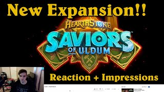 Saviors of Uldum Reaction And Impressions! [Hearthstone]