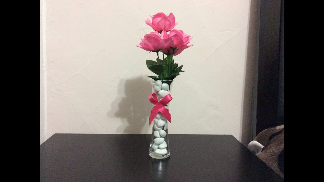 Florero para centro de mesa youtube - Fabrica de floreros de vidrio ...