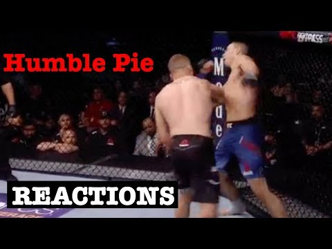 MMA Reacts to Justin Gaethje KO James Vick In First Round - UFC Lincoln