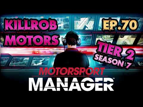 Motorsport Manager: Ep.70 Season 7 Race 8+9