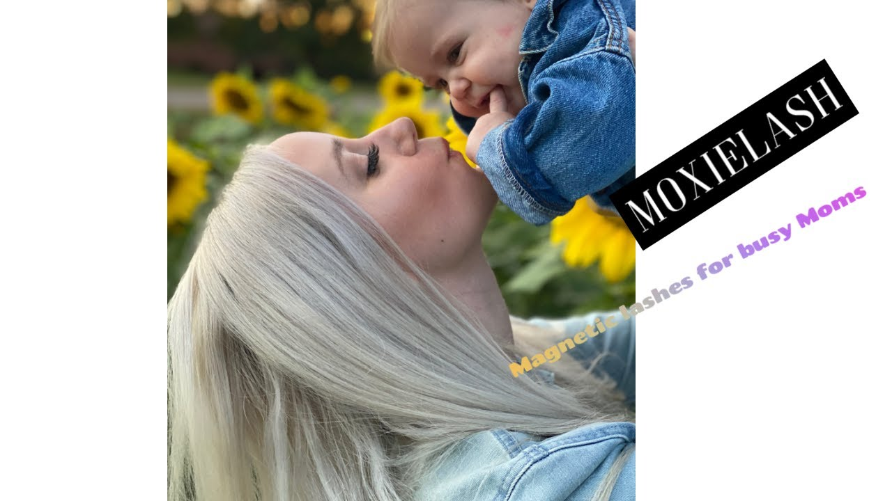 Easy Magnetic Lashes For Busy Moms Ft. MoxieLash