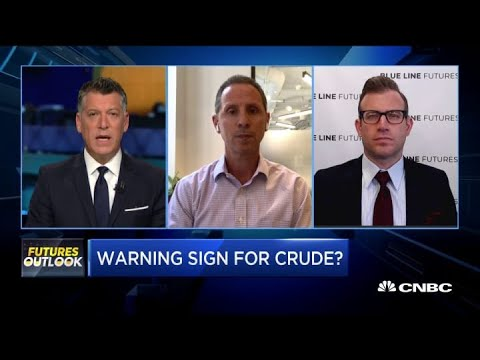 Here are the possible warning signs on crude oil futures