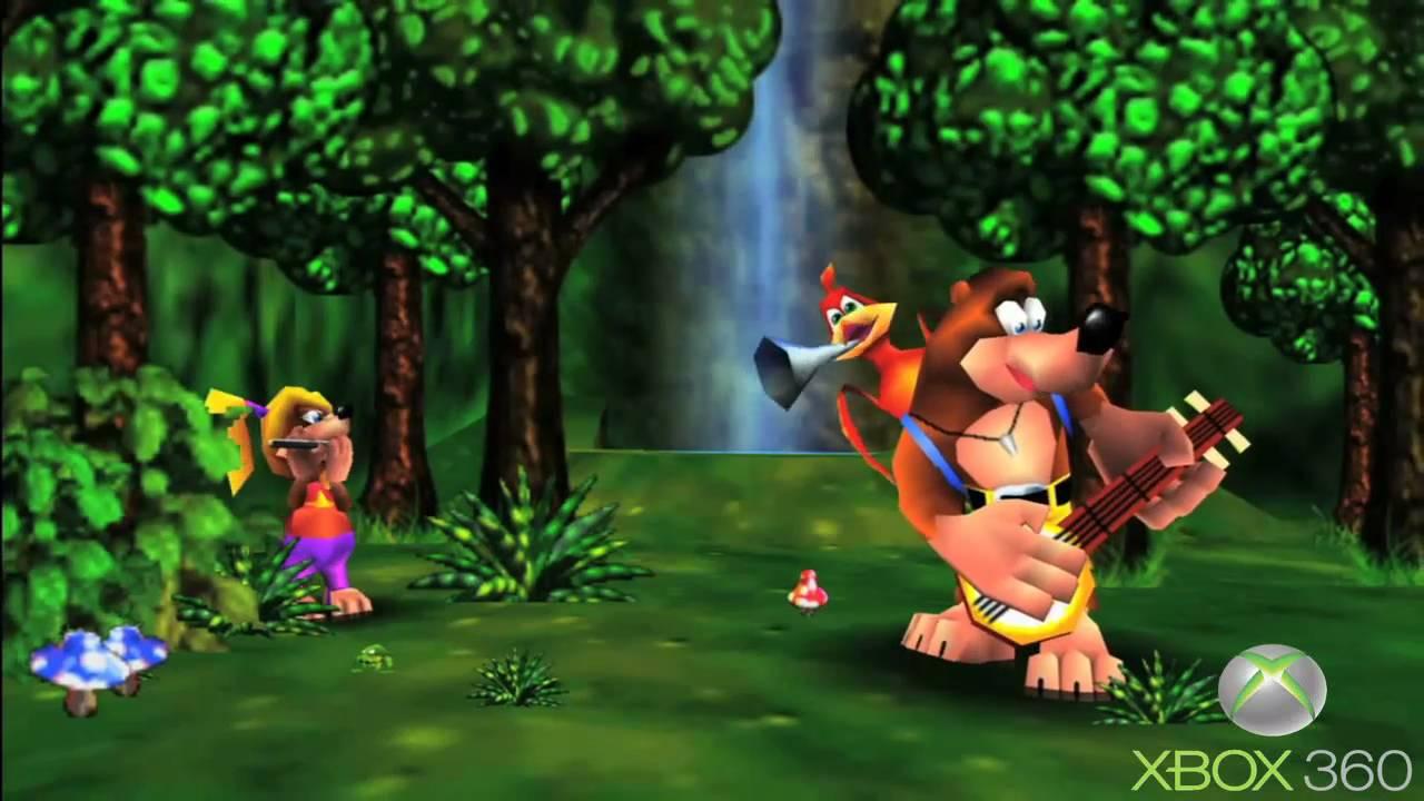 Banjo Kazooie N64 Vs Xbox 360 Comparison YouTube