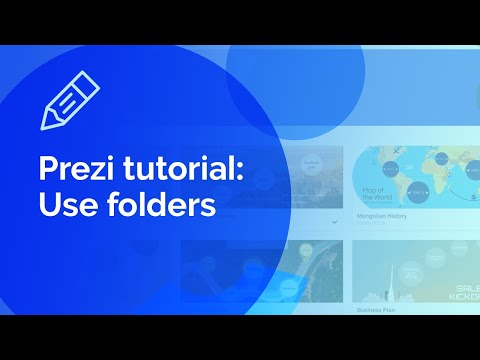 Prezi tutorial: How to use folders thumbnail