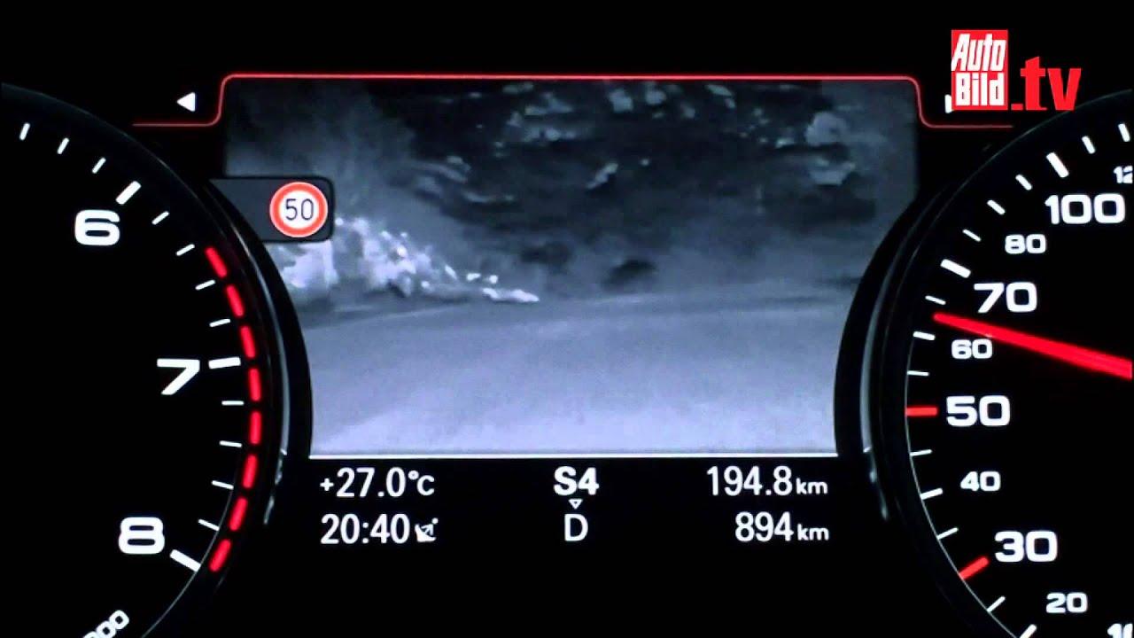Assistenzsysteme - Audi Nachtsichtassistent - YouTube
