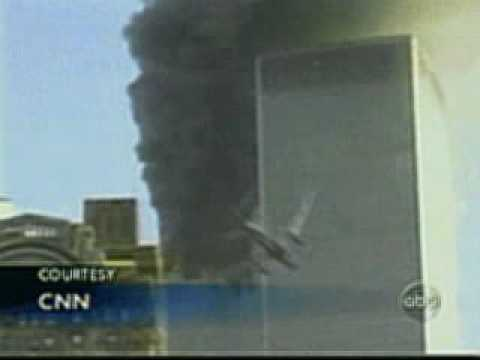 9 11 south tower crash slowed down ghost plane youtube. Black Bedroom Furniture Sets. Home Design Ideas
