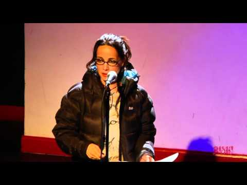 Janeane Garofalo performs at the RISK! Live  in NYC  March 29, 2012