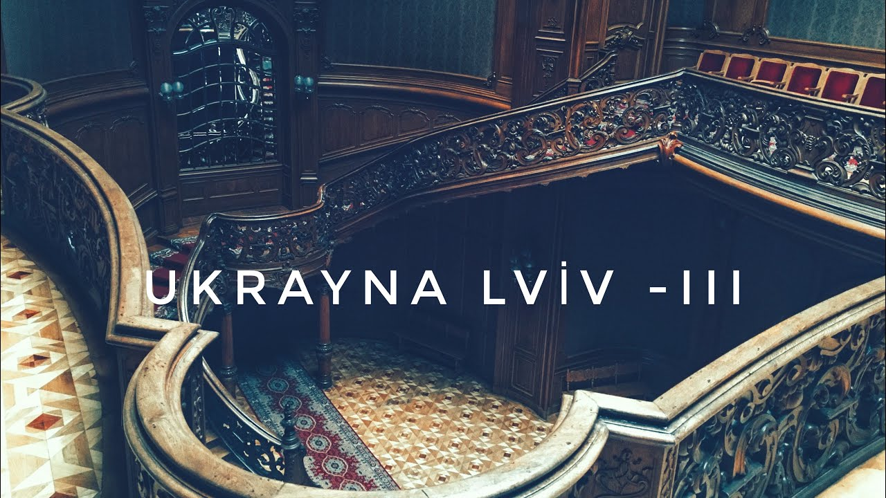 Lviv Gezisi III (Ukraine-Lviv III)  / Avenue View