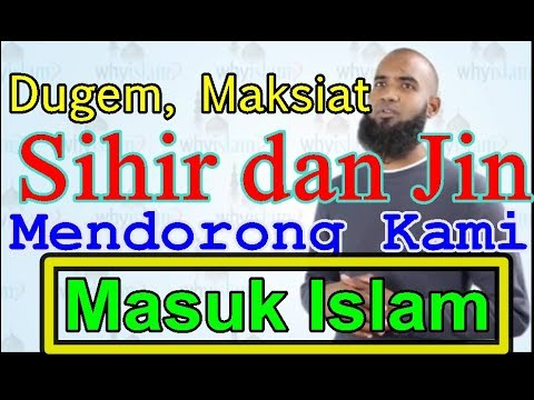 PENGUSAHA KLUB MALAM HINDU AMERIKA MASUK ISLAM - DUGEM & MAKSIAT MENGGIRING KAMI MENJADI MUSLIM