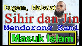 PENGUSAHA KLUB MALAM HINDU AMERIKA MASUK ISLAM DUGEM MAKSIAT MENGGIRING KAMI MENJADI MUSLIM