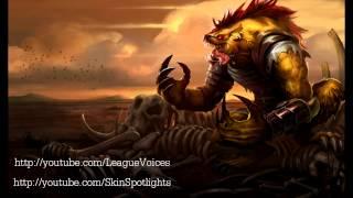 Hyena Warwick Voice - League of Legends