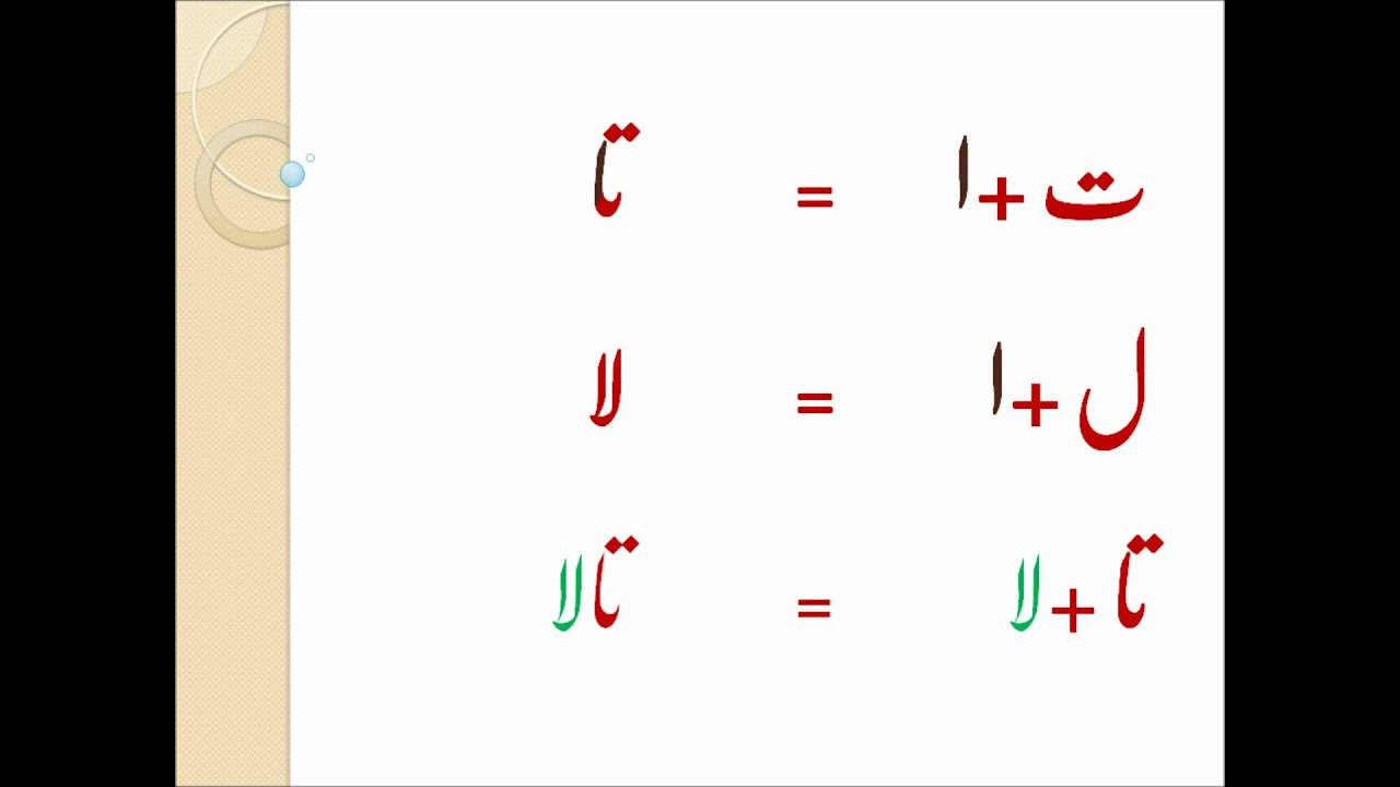 Urdu 2 And 4 Letter Words Primary Education Elementary Education Baby Education