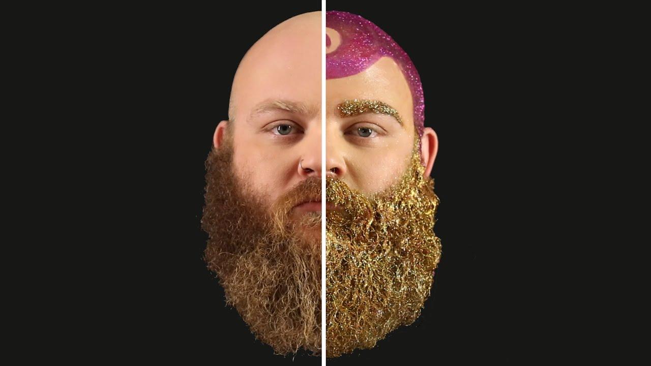 Diy glitter beard tutorial youtube solutioingenieria Gallery