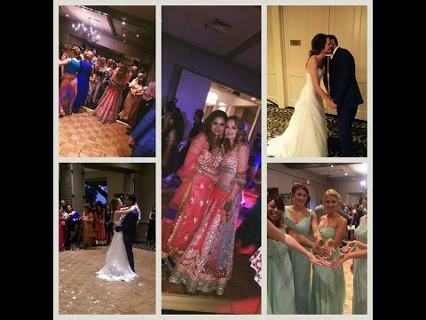 Hollywood actress Ali Faulkner's wedding dance in a Studio D bridal outfit