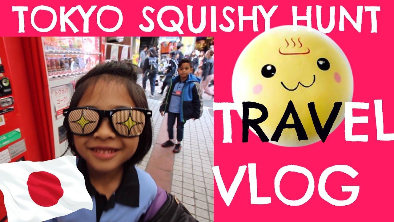 Squishy Hunting : VLOG JAPAN TRIP : SQUISHY HUNTING Ke Tokyo JEPANG? - Part 4 - YouTube