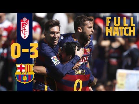FULL MATCH: Granada 0 - 3 Barça (2016) When FC Barcelona won the league title in style!