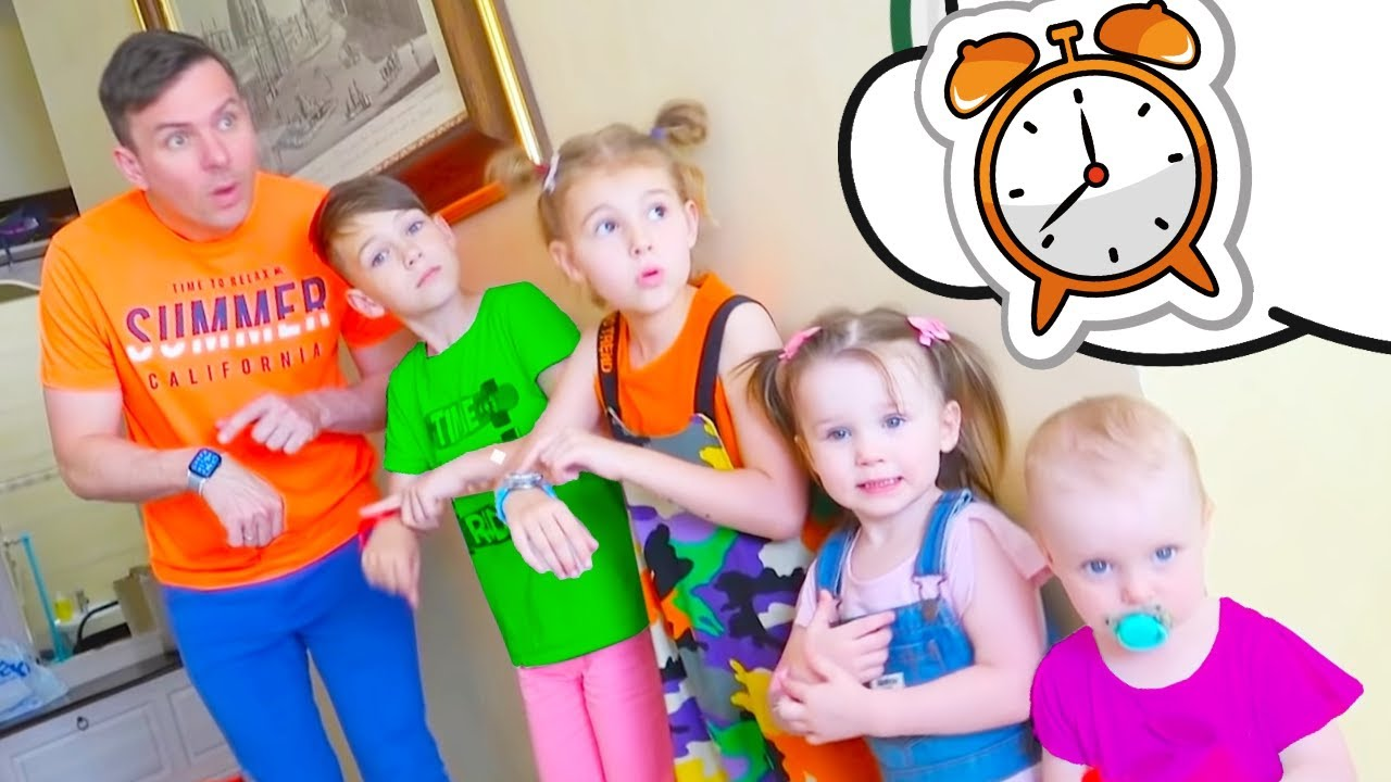 Five Kids This is the way Song + more Children's Songs and Videos