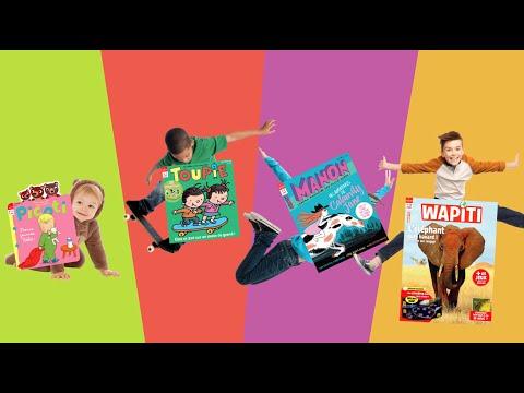 Des magazines pour tous les enfants - 0-15 ans - Milan presse